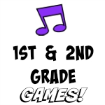 1st & 2nd Grade Games
