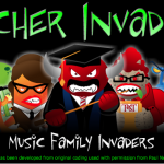 Instrument Family Teacher Invaders Game