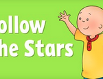 Caillou Follow the Stars Memory Game